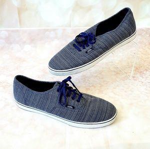 Vans Classic Skater canvas sneaker 10 denim blue